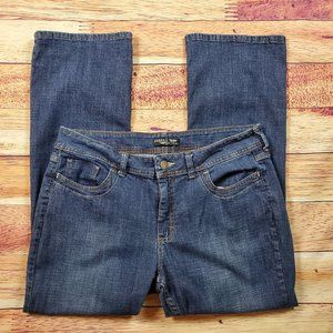 Riders By Lee Mid Rise Bootcut Jeans Size 16P